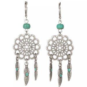 🆕 Dreamcatcher dangle earrings
